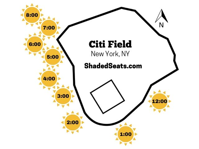 Citi Field Shaded Seats